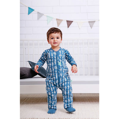 Ergopouch - Sleep Suit Winter 2.5 TOG - Midnight Arrows - Baby Sleeping Bags - ErgoCocoon - Afterpay - Zippay Carry Them Close