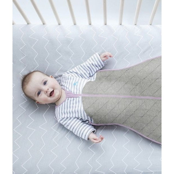 Love to Dream - Sleep Bag 2.5 TOG - Lilac and Grey - Baby Sleeping Bags - Love To Deam - Carry Them Close