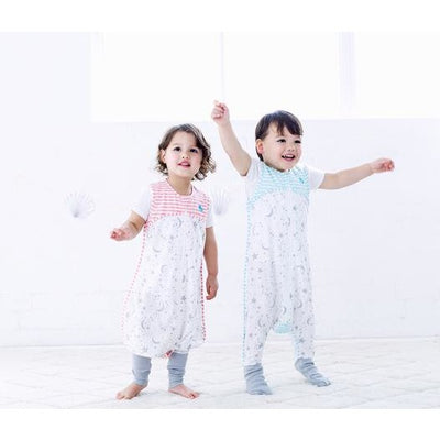 Love to Dream - Sleep Suit 0.2 TOG Summer - Aqua - Baby Sleeping Bags - Love To Deam - Afterpay - Zippay Carry Them Close