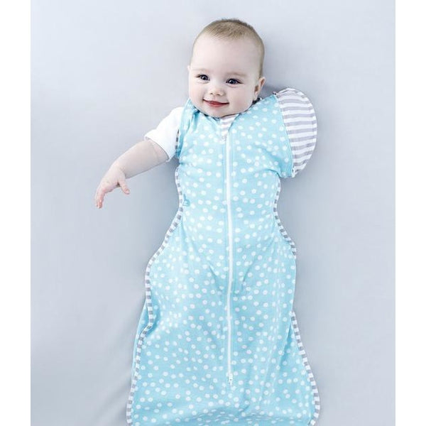 Love to Dream - Love to Swaddle Up 50/50 Summer Lite - Blue