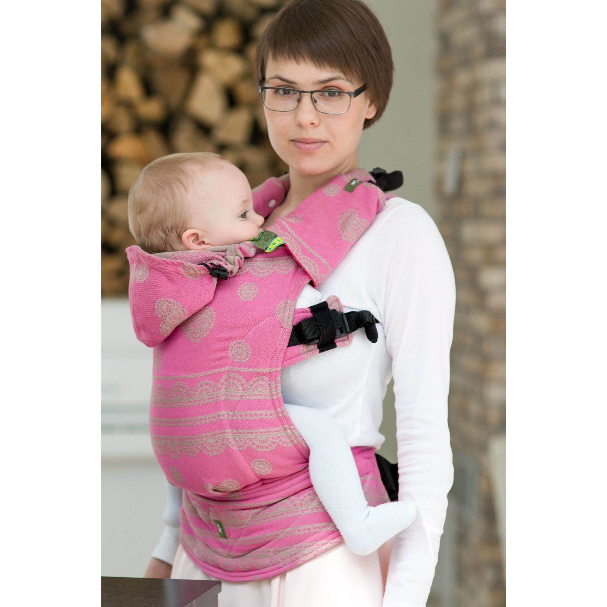 4c78721dbf8 Lenny Lamb Ergonomic Carrier (BABY) - Candy Lace (Second Generation ...