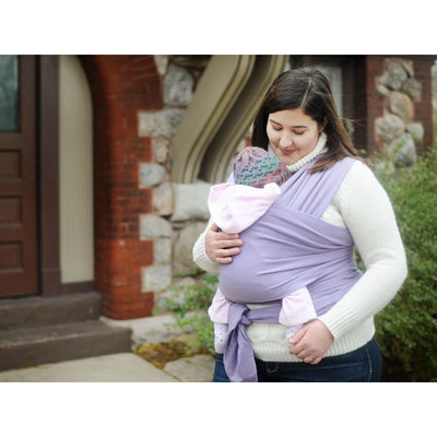 Moby Wrap - Lavender - Stretchy Wrap - Moby - Afterpay - Zippay Carry Them Close