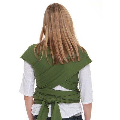 Moby Wrap - Leaf - Stretchy Wrap - Moby - Afterpay - Zippay Carry Them Close
