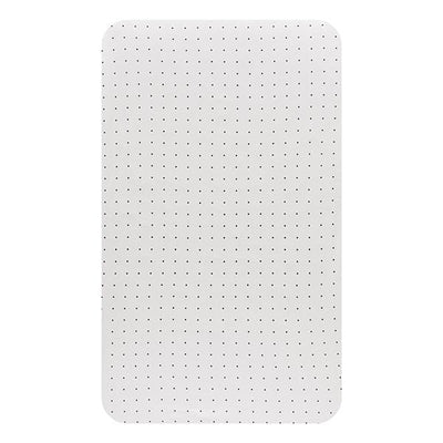Little Turtle Baby - Changing Pad Cover - White with Black Spots
