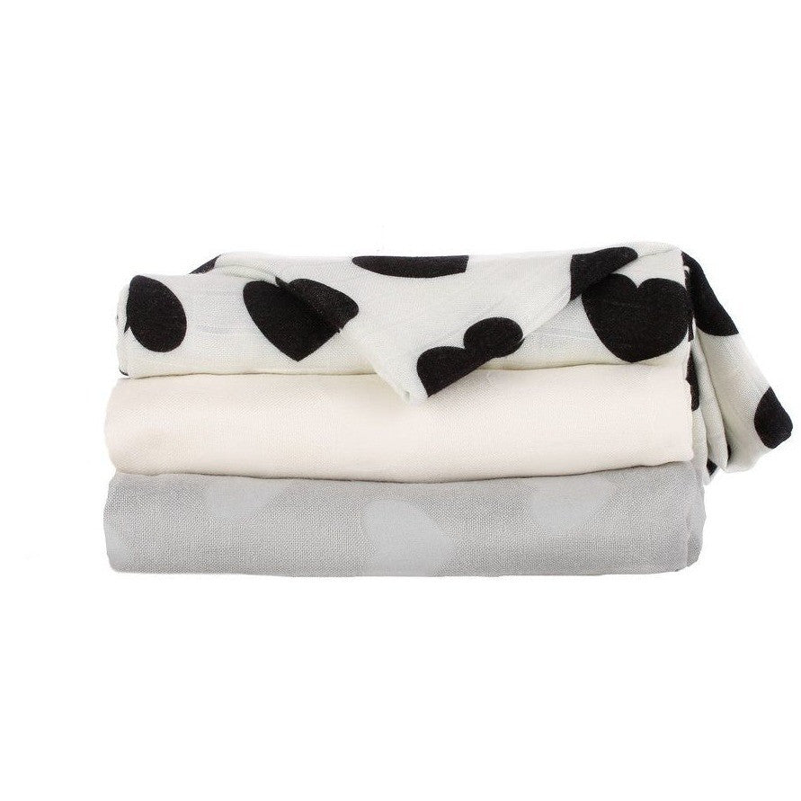 Tula Blanket - Tula Love Noir - Baby Blankets - Tula - Carry Them Close