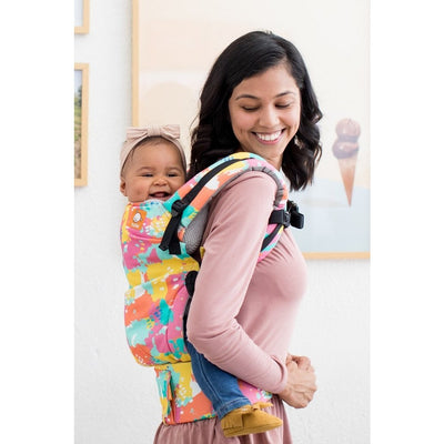 Tula Toddler Carrier - Paint Palette - Toddler Carrier - Tula - Afterpay - Zippay Carry Them Close