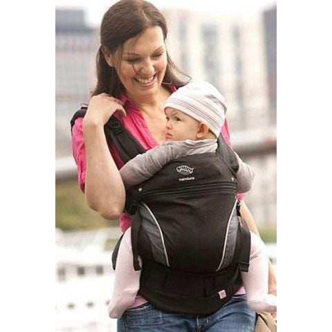 Manduca Baby Carrier - Black, , Baby Carrier, Manduca, Carry Them Close  - 1
