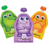 Little Mashies - Reusable Food Pouches 10PK (Mixed Colours) - Feeding - Little Mashies - Afterpay - Zippay Carry Them Close