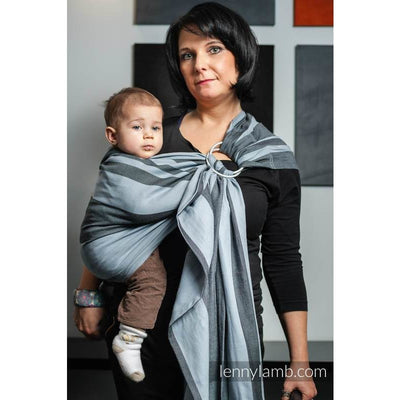 Lenny Lamb Ring Sling - Moon Rock Bamboo - Ring Sling - Lenny Lamb - Afterpay - Zippay Carry Them Close