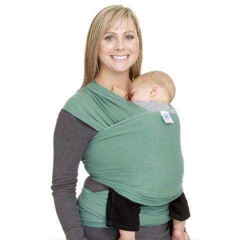 Moby Wrap - Moss, , Stretchy Wrap, Moby, Carry Them Close  - 1