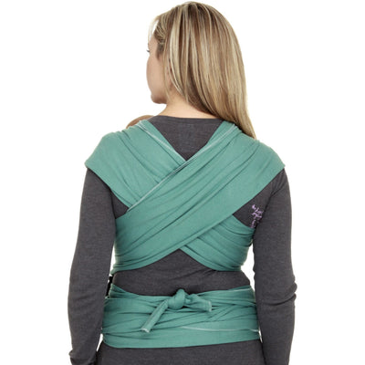Moby Wrap - Moss, , Stretchy Wrap, Moby, Carry Them Close  - 2