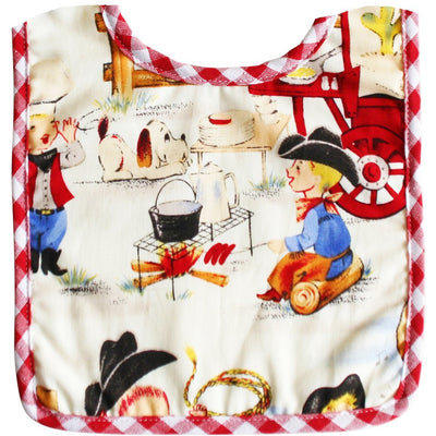 Alimrose - Cowboy Bib - Yehaw! - Clothing - Alimrose - Afterpay - Zippay Carry Them Close