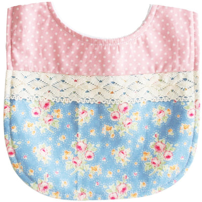 Alimrose - Bib Blossom Blue & Pink - Clothing - Alimrose - Afterpay - Zippay Carry Them Close