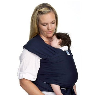 Moby Wrap - Navy, , Stretchy Wrap, Moby, Carry Them Close  - 2
