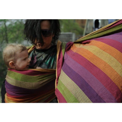 Girasol Ring Sling - Tulip Herringbone - Ring Sling - Girasol - Afterpay - Zippay Carry Them Close