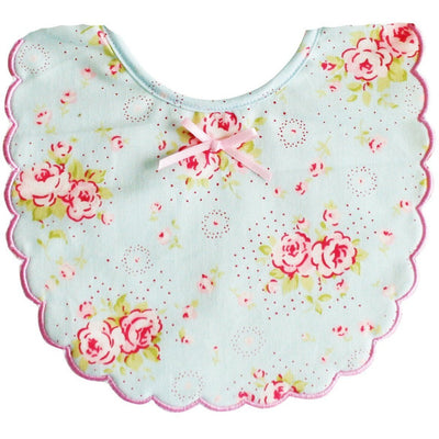 Alimrose - Scallop Bib Blue Floral - Clothing - Alimrose - Afterpay - Zippay Carry Them Close