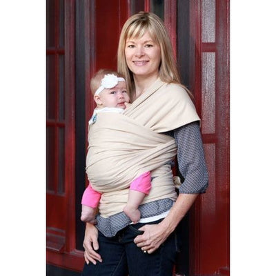 Moby Wrap Organic - Oatmeal, , Stretchy Wrap, Moby, Carry Them Close  - 1