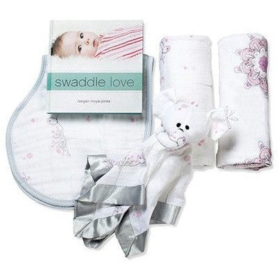Aden and Anais - Gift Set - For the Birds, , swaddle, Aden and Anais, Carry Them Close  - 1