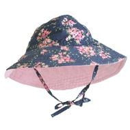 Alimrose Sun Hat - Reversible Wildflower - Clothing - Alimrose - Afterpay - Zippay Carry Them Close