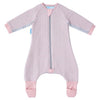 Gro - GroRomper Sleep Suit Cosy - Pink Stripe - Baby Sleeping Bags - The Gro Company - Afterpay - Zippay Carry Them Close