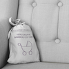 Mulberry Threads - Organic Bamboo Baby Pillowcase - Silver