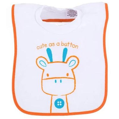 Popover Bib - Giraffe (3 Pk) - Clothing - Big Softies - Afterpay - Zippay Carry Them Close