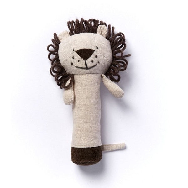 Nana Huchy - Levi Lion Rattle, , Toys, Nana Huchy, Carry Them Close  - 1