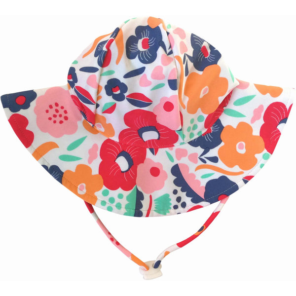 Plum - Swim Hat Floral
