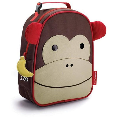 Skip Hop Zoo Lunchie Insulated Lunch bag - Monkey - Lunch & Snack Boxes - Skip Hop - Afterpay - Zippay Carry Them Close