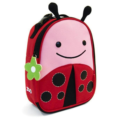 Skip Hop Zoo Lunchie Insulated Lunch bag - Ladybug - Lunch & Snack Boxes - Skip Hop - Afterpay - Zippay Carry Them Close