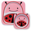 Skip Hop Melamine Set (Plate & Bowl) - Ladybug - Plates & Bowls - Skip Hop - Afterpay - Zippay Carry Them Close