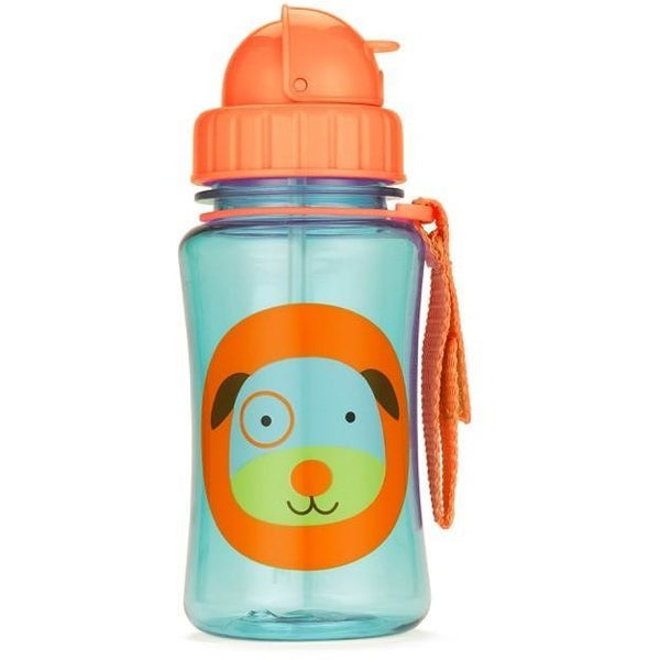 Skip Hop Straw Drink Bottle - Dog