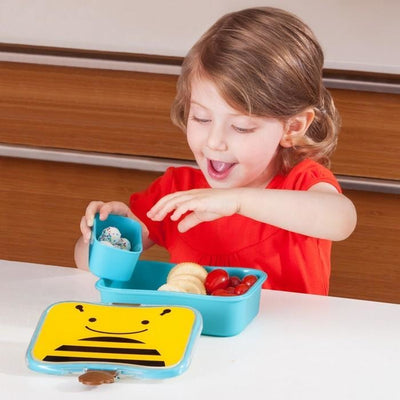Skip Hop Zoo Lunch Kit - Bee - Lunch & Snack Boxes - Skip Hop - Afterpay - Zippay Carry Them Close