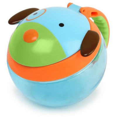 Skip Hop Zoo Snack Cup - Dog - Lunch & Snack Boxes - Skip Hop - Afterpay - Zippay Carry Them Close