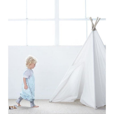Love to Dream - Sleep Suit 1 TOG - Blue - Baby Sleeping Bags - Love To Deam - Afterpay - Zippay Carry Them Close