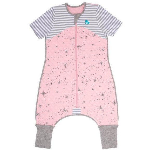 Love to Dream - Sleep Suit 1 TOG - Pink - Baby Sleeping Bags - Love To Deam - Carry Them Close