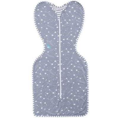 Love to Dream - Love to Swaddle Up Original Bamboo - Shooting Star Grey - Swaddle - Love To Deam - Afterpay - Zippay Carry Them Close
