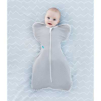 Love to Dream - Love to Swaddle Up Summer Lite - Grey - Swaddle - Love To Deam - Afterpay - Zippay Carry Them Close