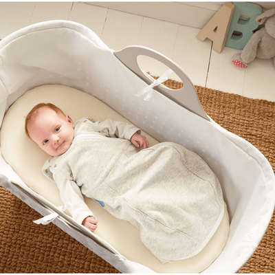 Grobag Newborn Swaddle (Cosy) - Grey Marl - swaddle - The Gro Company - Afterpay - Zippay Carry Them Close