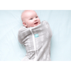 ErgoPouch - ErgoCocoon Summer Swaddle & Sleeping Bag (0.2TOG) - Grey Fern, , Swaddle, ErgoCocoon, Carry Them Close  - 1
