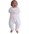 Plum - Swaddle Suit 2.5TOG - Pink Marle