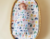 Halcyon Nights - Baby Swaddle Wrap - ABC OF ANIMALS