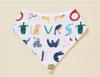 Halcyon Nights - Bandana Bib - ABC OF ANIMALS Yo Yo Bib
