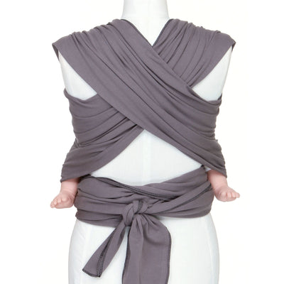 Moby Wrap - Slate (mid/lighter weight), , Stretchy Wrap, Moby, Carry Them Close  - 3