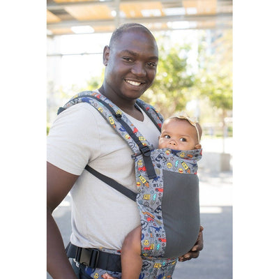 Tula Baby Carrier Standard - Coast Stamps (Mesh) - Baby Carrier - Tula - Afterpay - Zippay Carry Them Close