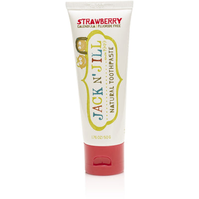 Jack n' Jill - Natural Tooth Paste Strawberry - Mouth Care - Jack n Jill - Afterpay - Zippay Carry Them Close