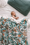 Pop Ya Tot - Muslin Swaddle - Wattle and Gum