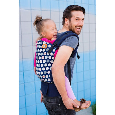 Tula Toddler Carrier - Trendsetter Navy - Toddler Carrier - Tula - Carry Them Close