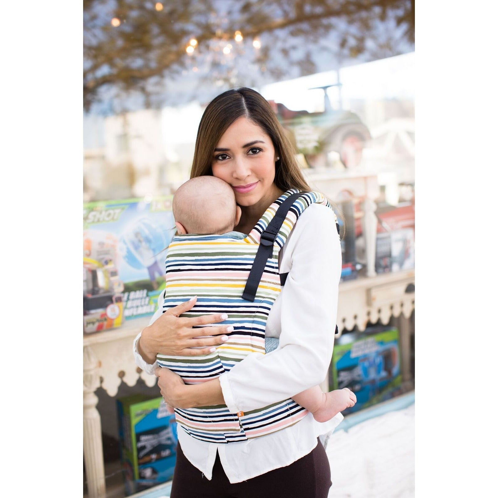 962fa9bbe54 Tula Free-To-Grow Carrier - Shoreline - Baby Carrier - Tula - Afterpay