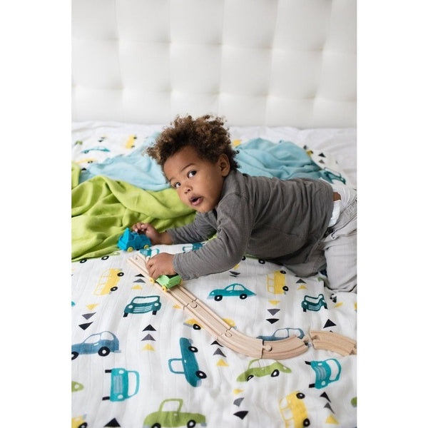 Tula Blanket - Beep Beep (Set) - Baby Blankets - Tula - Carry Them Close
